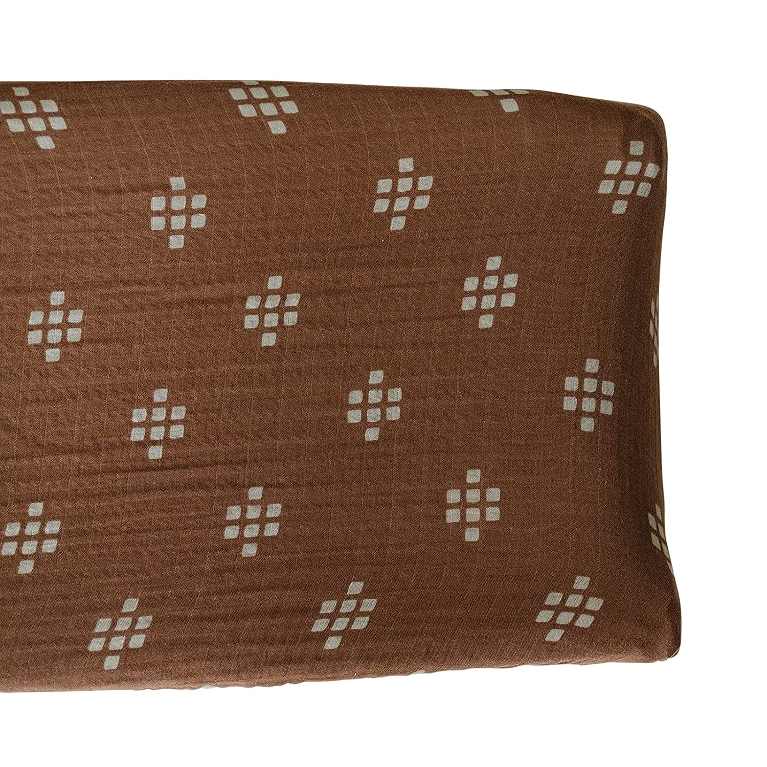 Mebie Baby Changing Pad Cover (Chestnut Textiles)