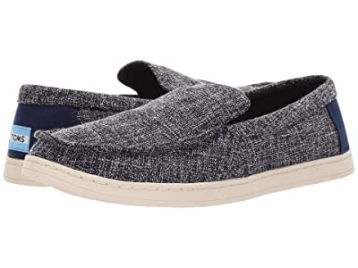 TOMS Aiden (Navy Two-Tone Woven) Men