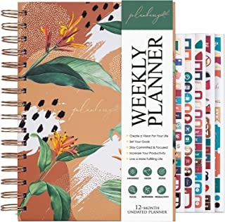 PLANBERRY Weekly Planner – Elegant Life & Budget Planner to Hit Your Goals & Live Happier - Organizer & Productivity Journ... photo