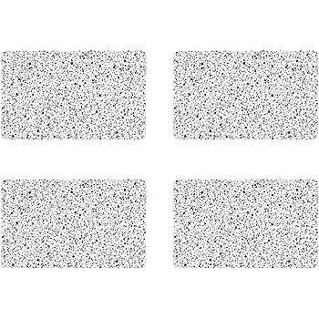 RICOLOR Brettchen granit 23,5x14,5cm 6er Set