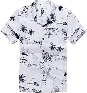 Men's Hawaiian Shirt Aloha Shirt