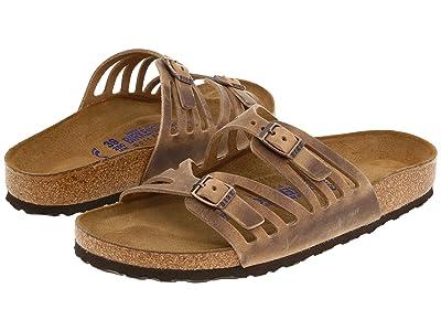 Birkenstock Granada Soft Footbed (Tobacco Oiled Leather) Women