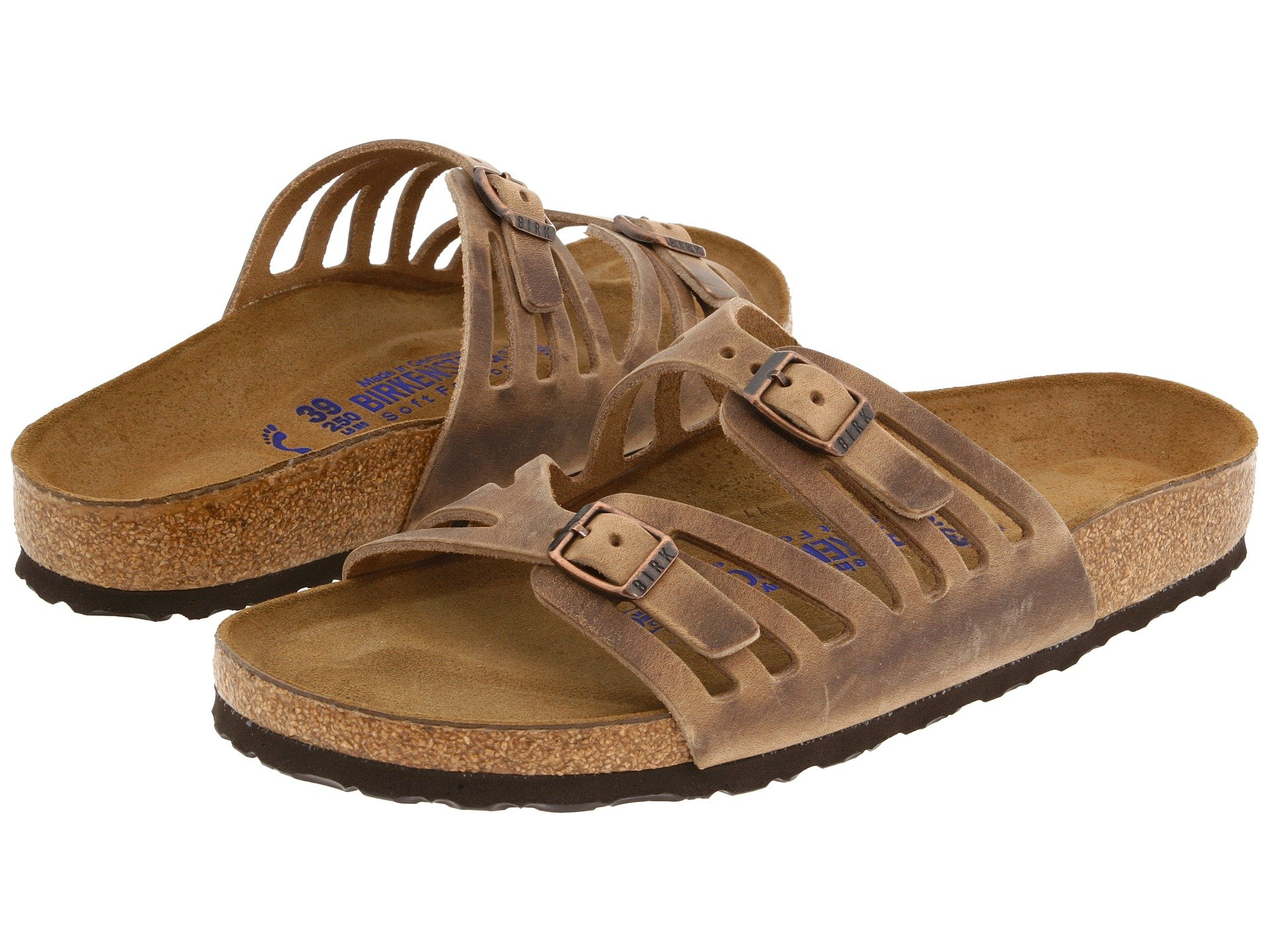 Birkenstock Granada Soft Footbed At Zappos Com