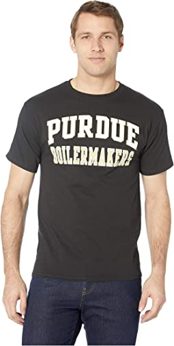 f19aa33db Black 2. 4. Champion College. Purdue Boilermakers Jersey Tee