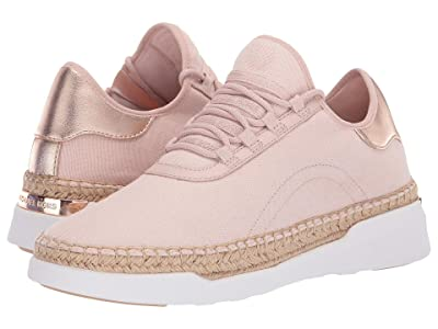 MICHAEL Michael Kors Finch Lace-Up (Soft Pink/Rose Gold Stretch Weave Canvas/Textured Metallic) Women