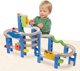 wonderworld Trix Track 組立木製玩具 スパイラルコースター TYWW7014