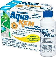 Thetford 10801 Aqua-KEM Original-Holding Tank Treatment-Deodorizer-Waste Digester-Detergent - 8 Ounce Bottles 6 Pack