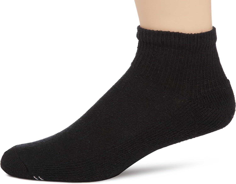 6-Pack Champion Mens Double Dry Performance Quarter Socks