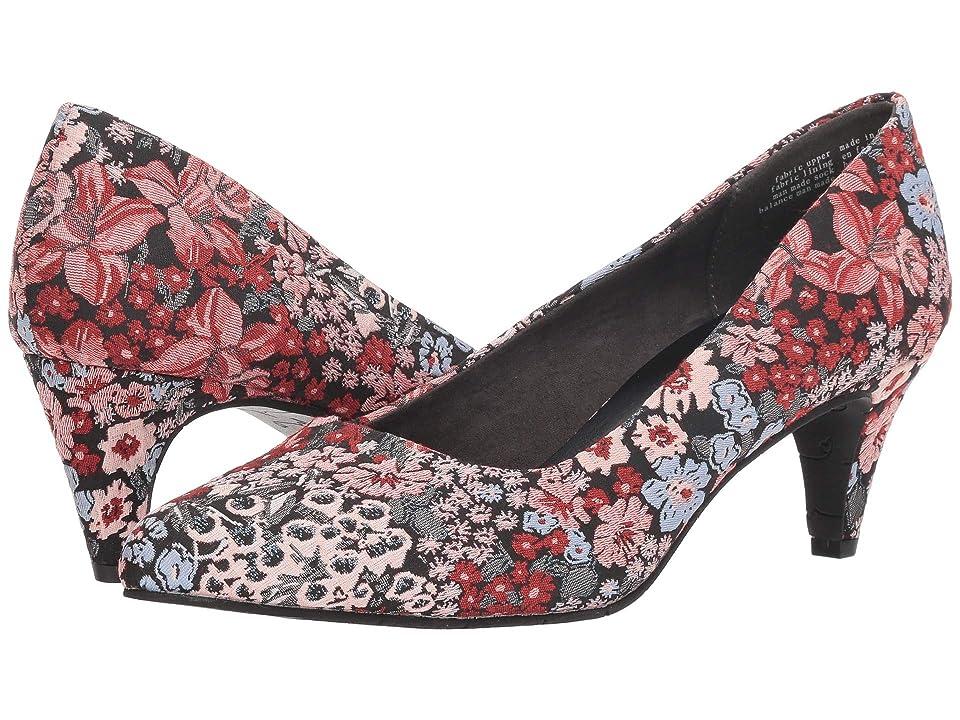 Seychelles BC Footwear by Seychelles Karat (Black Floral Fabric) Women