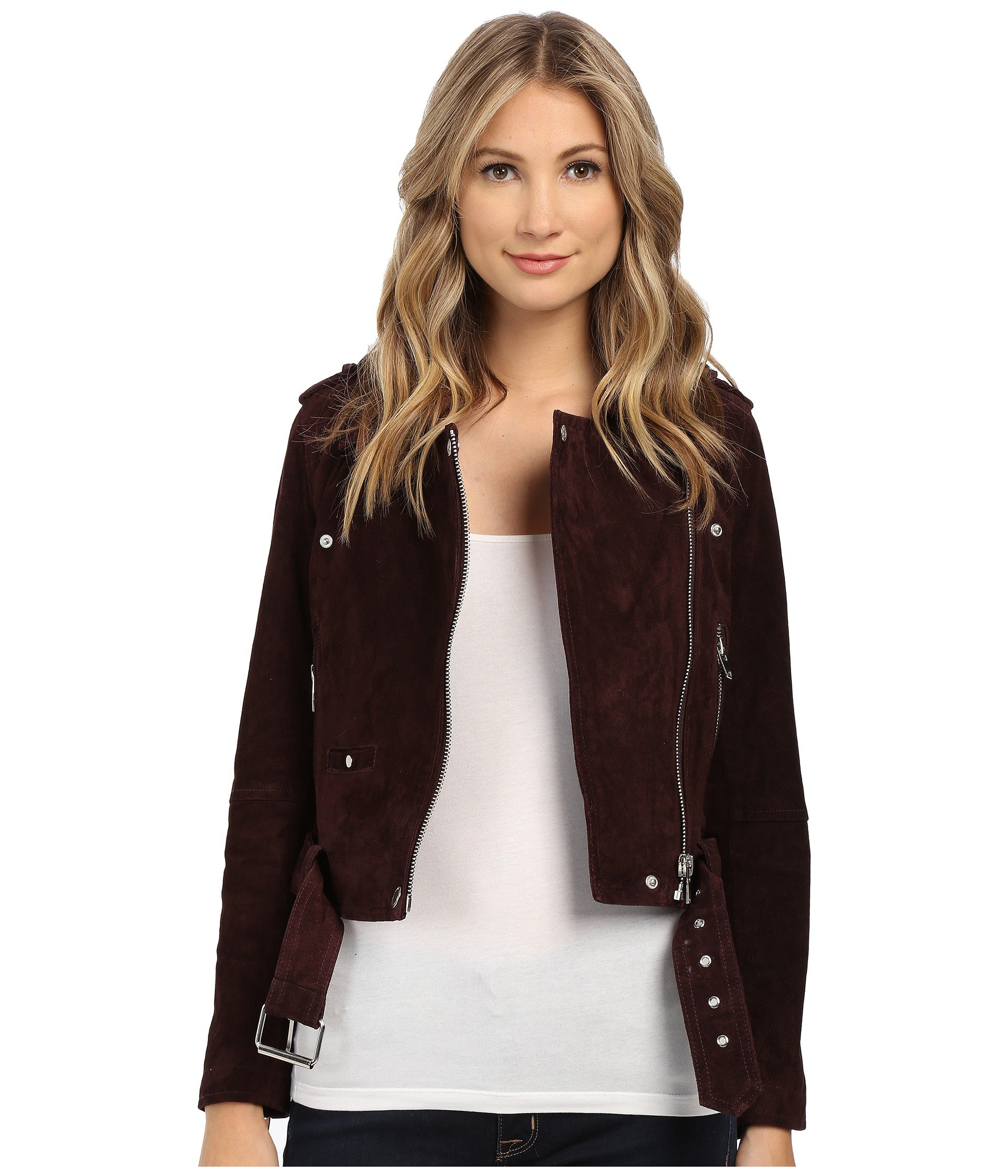 shipping vince leather s free detail today women jacket xl quilted xs clothing overstock chain m womens cognac genuine product quilt l shoes camuto