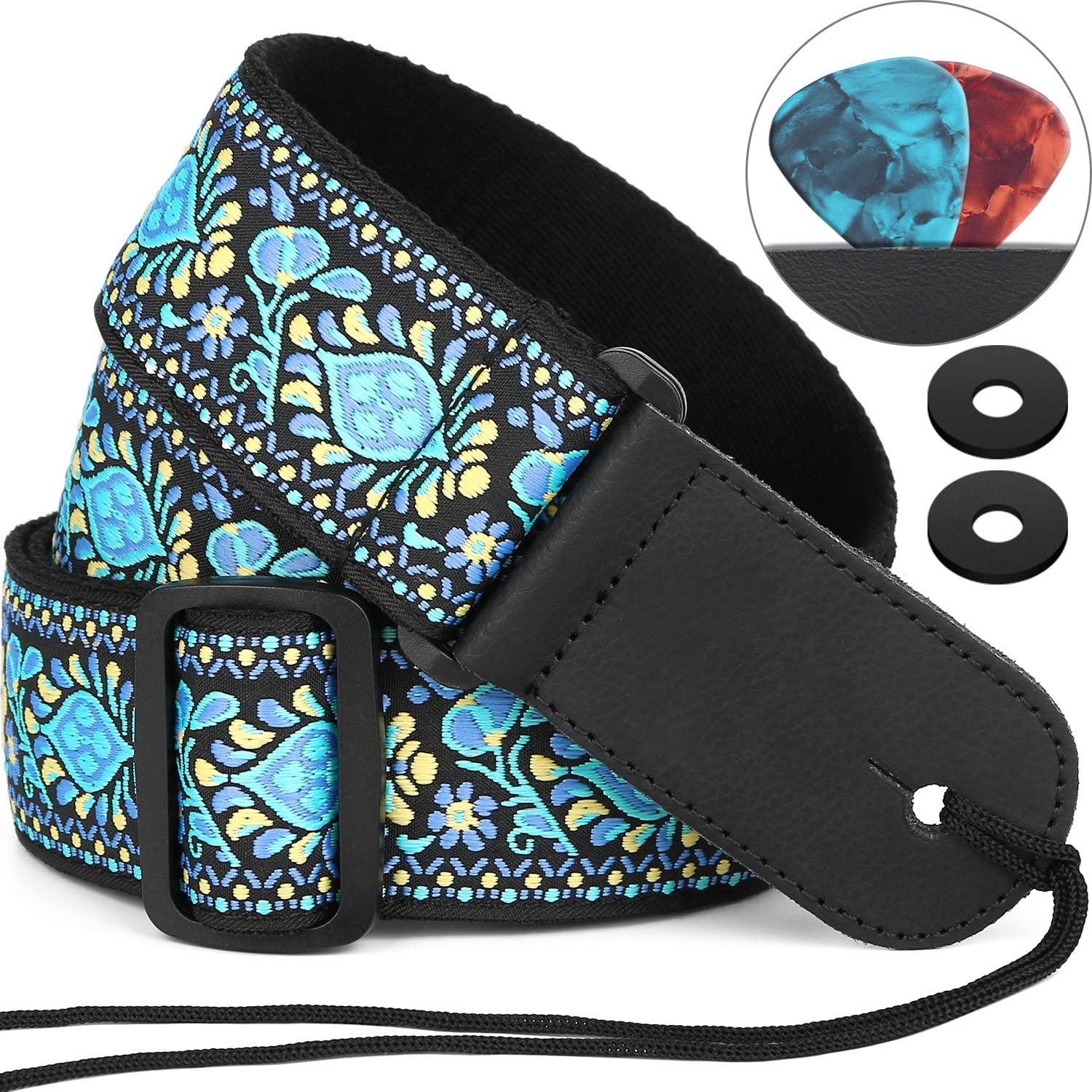 Guitar Strap shopping Anwenk Electric S Max 64% OFF Bass Acoustic