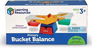 Learning Resources Primary Bucket Balance Teaching Scale, Science/Math, Classroom Scale, Science for Kids, ...