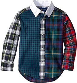 Plaid Cotton Poplin Fun Shirt (Toddler)