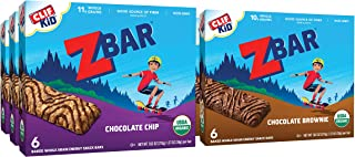 CLIF KID ZBAR - Organic Energy Bars - Value Pack - (1.27 Ounce Energy Bars, Lunch Box Snacks, 36 Count)