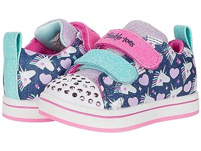 SKECHERS KIDS Twinkle Toes Sparkle Rayz Unicorn Heartbeat 314842N (Toddler)