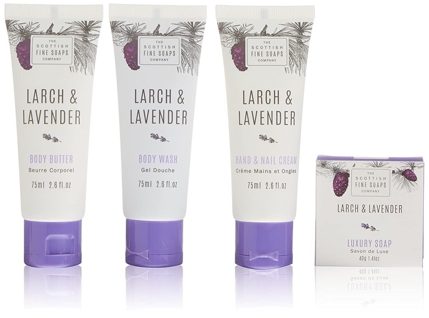 Scottish Fine Soaps Latch and Lavender Luxurious Gift Set