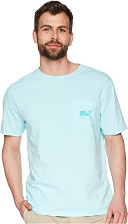 Vineyard Vines - Short Sleeve Vintage Whale Fill Pocket Tee