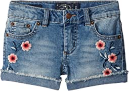 Bobbi Denim Shorts in Ryder Wash (Little Kids)