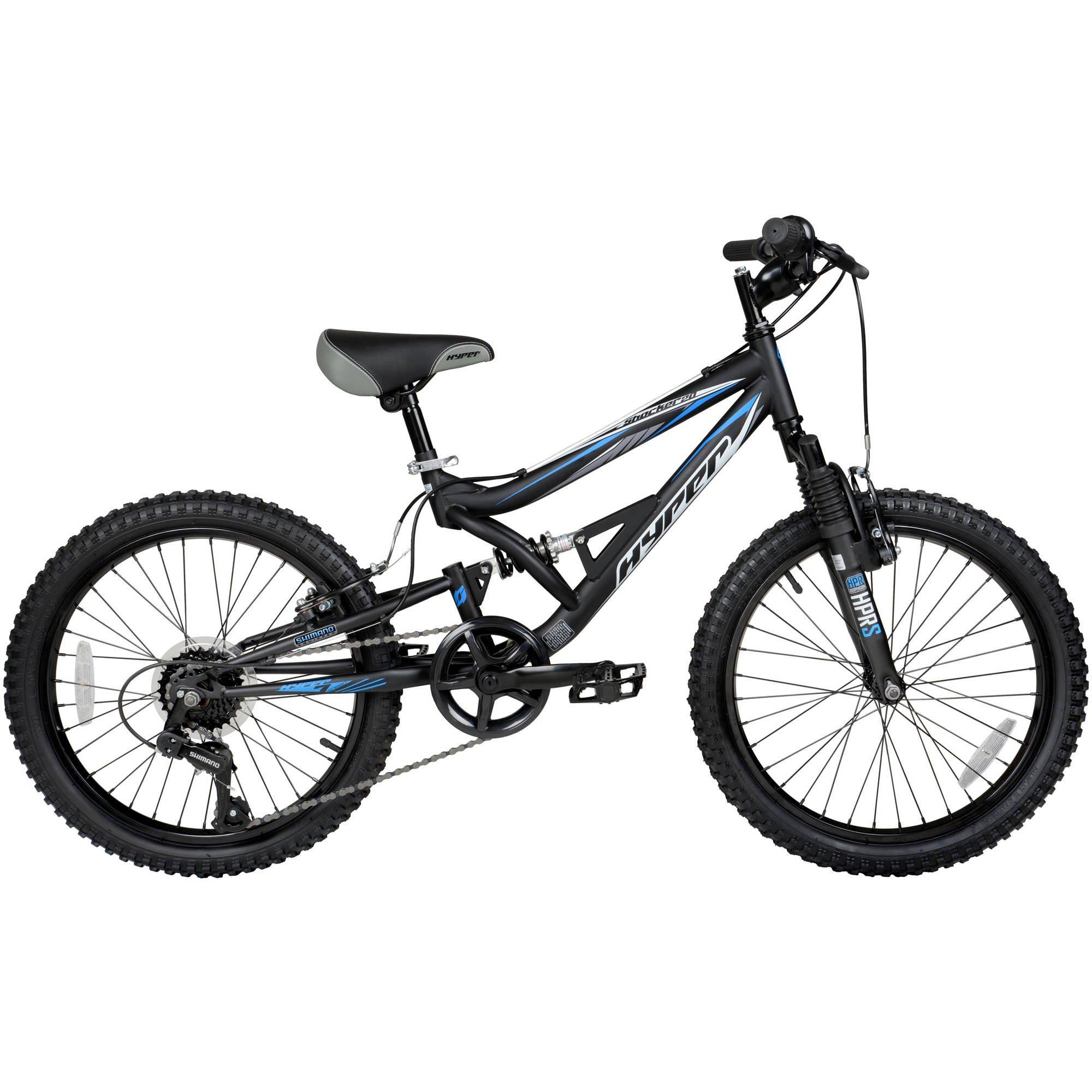 20 Hyper Shocker Bike Black