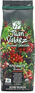 Juan Valdez Coffee Organic Gourmet Medium Roast Whole Bean Colombian Coffee 17.6 oz