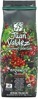 JUAN VALDEZ Organic Colombian Fairtrade Coffee   Café Colombiano Organico 17.6oz