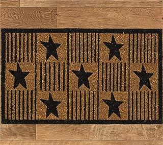Park Designs Primitive Star Doormat
