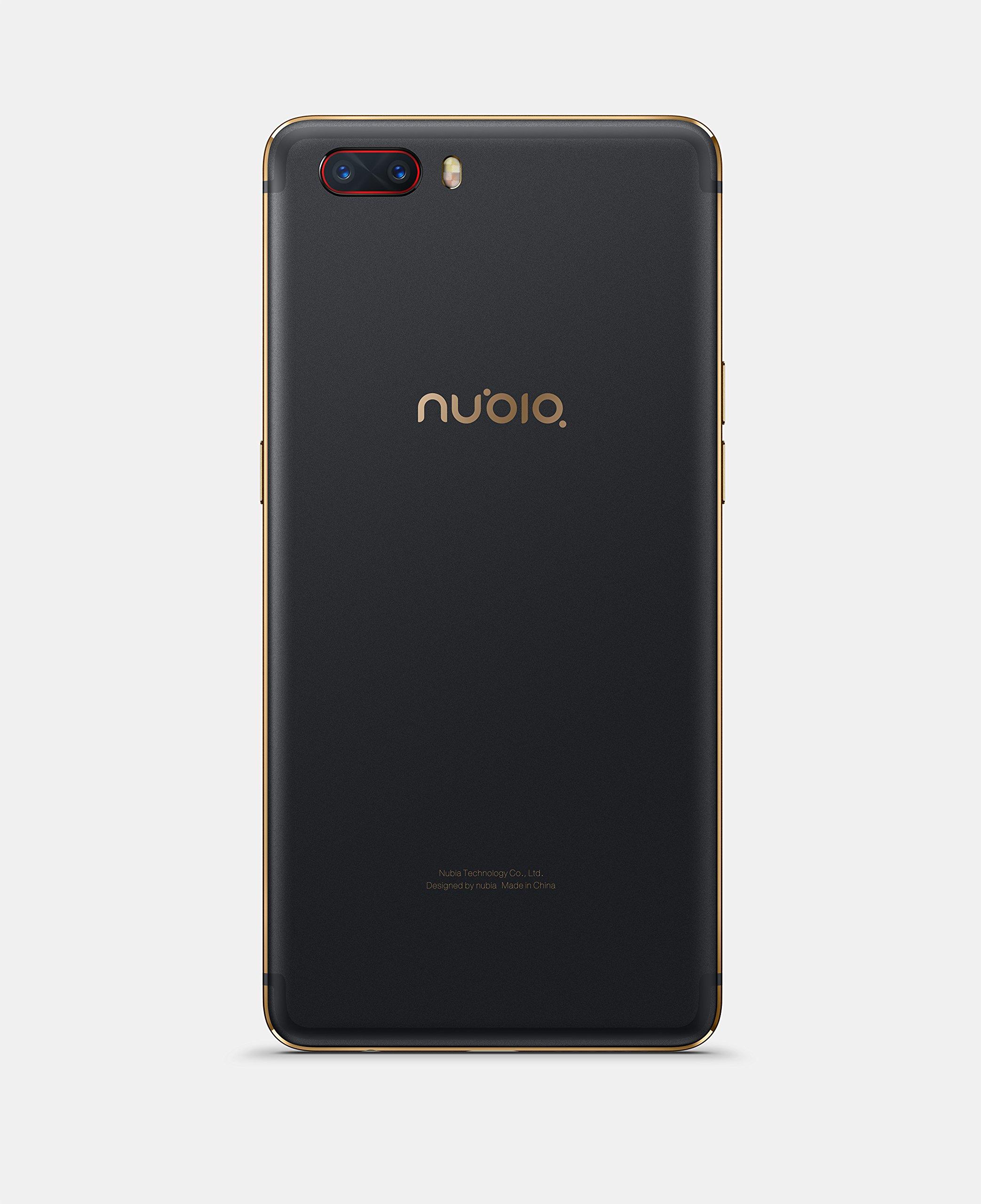 Nubia nx551j M2 Smartphone (64GB Memoria, 4 GB de RAM, cámara de 13 MP, Android 6.0, 13,9 cm (5,5 Pulgadas)), Color Negro/Oro: Amazon.es: Electrónica