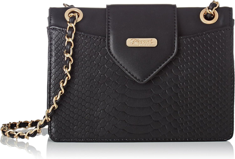 Kaporal Onima, Women's CrossBody Bag, black (Black), 14x29x37 cm (W x H L)