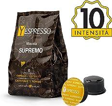 Yespresso Capsule Caffitaly Compatibili Supremo - Confezione da 80 Pezzi