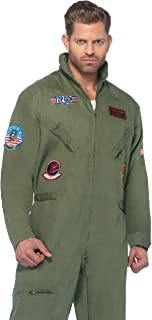Men's Top Gun Flight Suit Costume