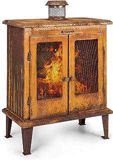 blumfeldt Flame Locker Chimenea de Exteriores - Horno de