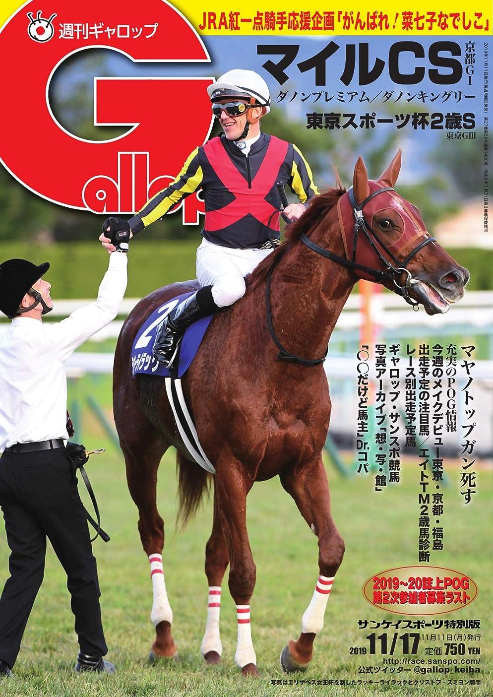 件名ライトニング資金週刊Gallop(ギャロップ) 11月17日号 (2019-11-12) [雑誌]