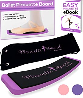 Zenmarkt Ballet Turning Board for Dancers - Figure Skating Ballet Dance Turning Pirouette Board Training Equipment for Dan...
