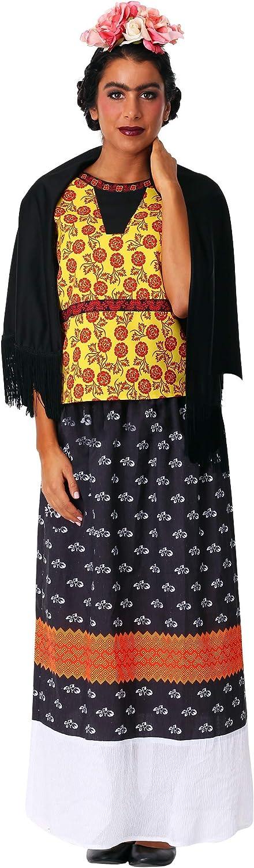 Women's Plus Frida Kahlo Fancy Dress Costume 2X
