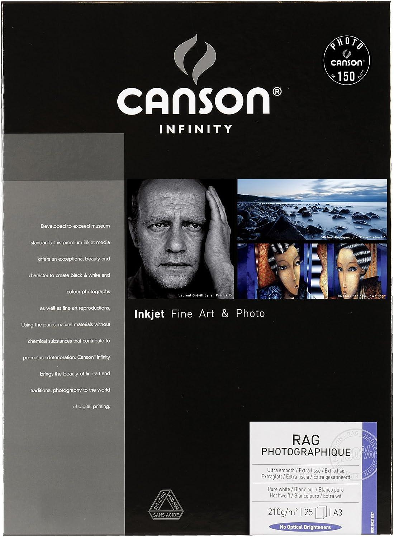 Canson Canson Canson 206211027 Rag Photographique Box, A3 B002RKK8B2 | Einzigartig  c2c854