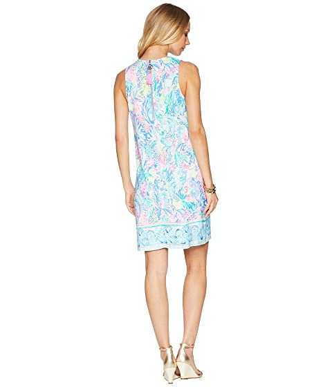 Lilly Pulitzer Kelby Stretch Shift Dress Multi Mermaids Cove Sale Fashionable VPv9VLjTS