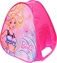 Sunny Days Entertainment Mattel Barbie Pop-Up Play Tent Made from Durable Flame Resistant Material & Bright Color Graphics