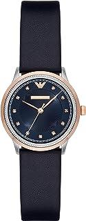 Emporio Armani Women's AR2066 Dress Blue Leather Quartz Watch