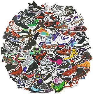 Fashion Case [Pack of 100] Sneaker Stickers - Car, Laptop, Luggage, Skateboard Graffiti