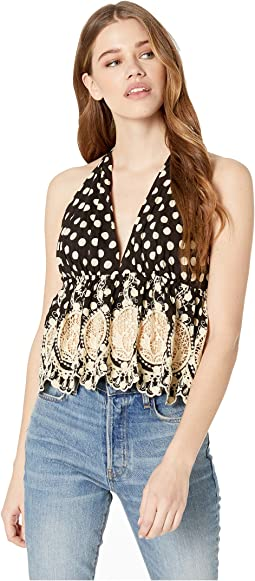 Lunch Date Halter Top