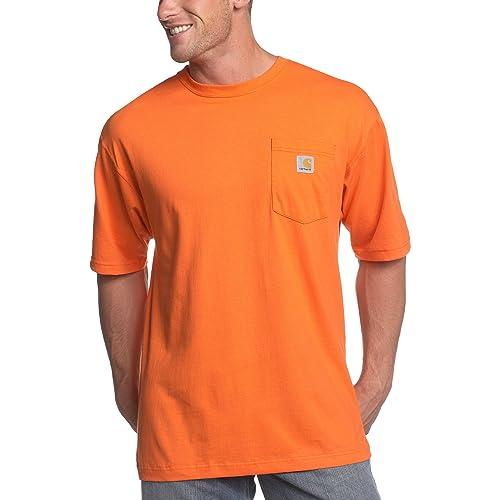 25ecf3d659 Carhartt Men s Work Wear Pocket Short-Sleeve T-Shirt