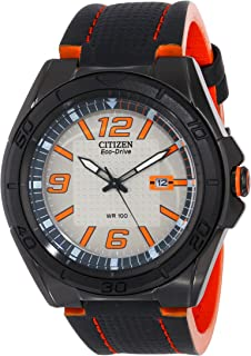 Men's AW1385-03H Drive From Citizen Eco-Drive BRT Analog Display Black Casual Watch