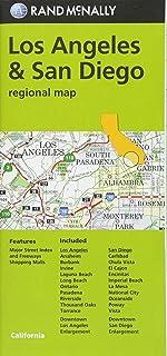 Rand McNally Los Angeles & San Diego, California Regional Map [Idioma Inglés]
