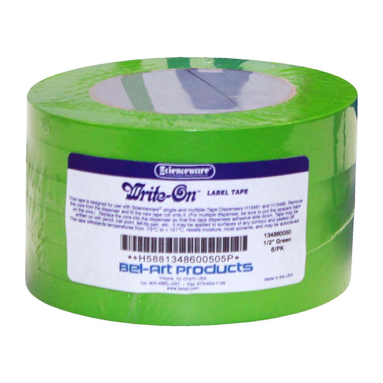 SP Bel-Art Write-On Green Label Tape; Length ¹ in. 40yd Wid Limited Louisville-Jefferson County Mall price ₂