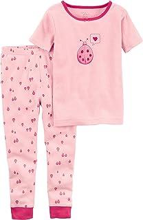 5dad62fe55 Carter s Girls  Little Planet Organics 2-Piece Cotton Pajamas