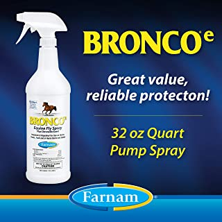 Farnam Fly Spray Repellent   For Horses, Ponies, and Dogs  32 oz