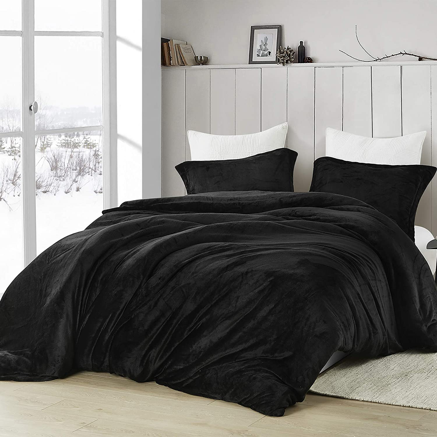 Byourbed Coma 卓出 Inducer King Duvet Touchy Black 安心の実績 高価 買取 強化中 Cover - Feely