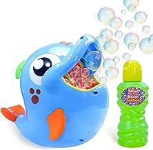 Bubble Machine, Automatic Durable Bubble Blower for Kids, 500 Bubbles per Minute, Simple..