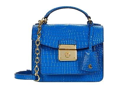 LAUREN Ralph Lauren Beckett 19 Crossbody (Masai Blue) Handbags