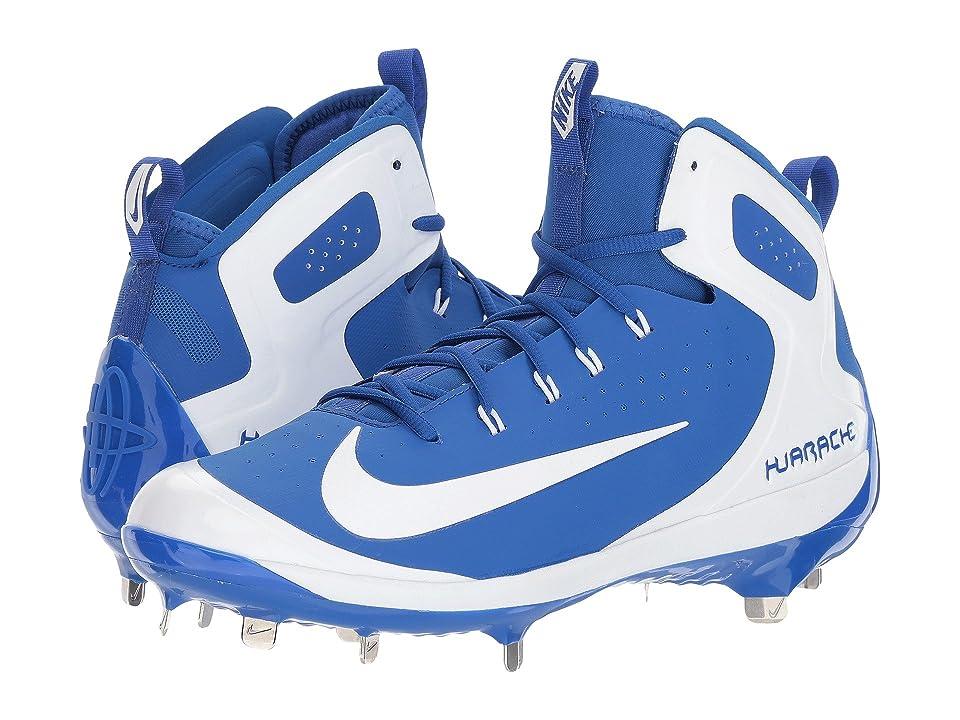 Nike Alpha Huarache Elite (Game Royal/White/White/Photo Blue) Men